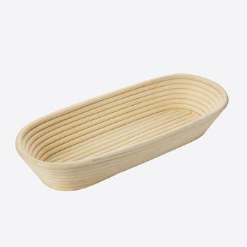 Westmark oval fermentation basket in wicker 39.5x15.4x7.2cm