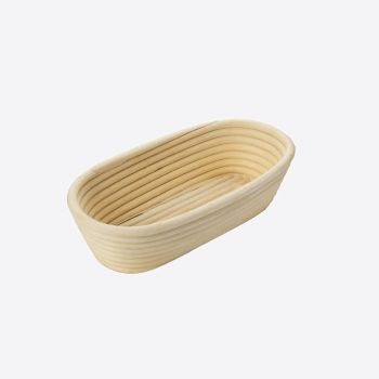 Westmark oval fermentation basket in wicker 27.5x14x7.1cm