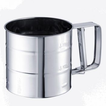 Westmark stainless steel flour sifter 15.7x10.4x9.5cm