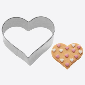 Westmark stainless steel cookie cutter heart 6x5.8x2.2cm