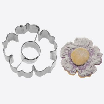 Westmark stainless steel cookie cutter 2D flower 6x6x2.2cm