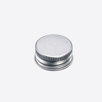 Westmark set of 10 silver screw lids Ø 2.8cm