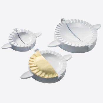 Westmark set of 3 plastic ravioli formers white