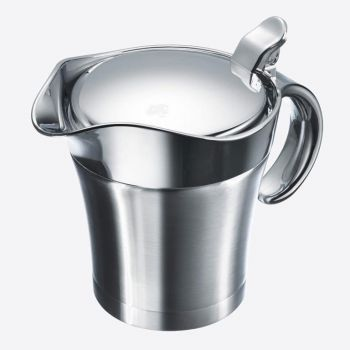 Westmark double walles gravy boat with lid in stainless steel and plastic 500ml