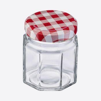 Westmark set of 6 hexagonal jars 100ml