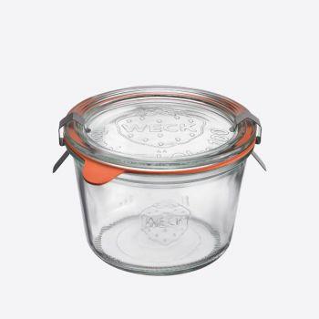 Westmark Weck set of 4 round clip top jars 250ml