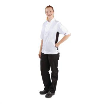 Whites Nevada koksbuis wit met zwart contrast XL