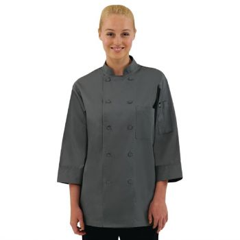 Chef Works unisex koksbuis grijs XS