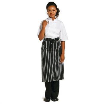 Whites standaard sloof zwart-wit gestreept