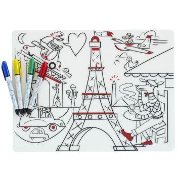 Modern Twist Kids Mark-Mat Paris Daydream + 4 Markers