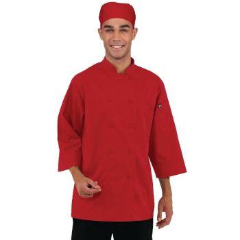 Chef Works unisex koksbuis rood S