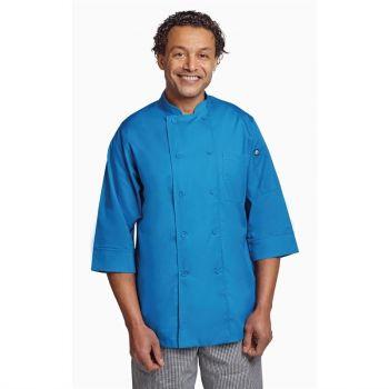 Chef Works unisex koksbuis blauw L