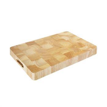 Vogue rechthoekige houten snijplank 30.5x45.5cm