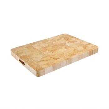 Vogue rechthoekige houten snijplank 45x60cm