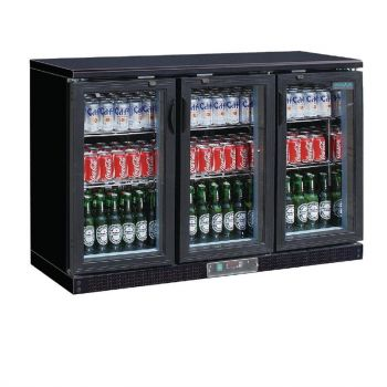 Polar G-serie gekoelde bardisplay zwart 273 flessen