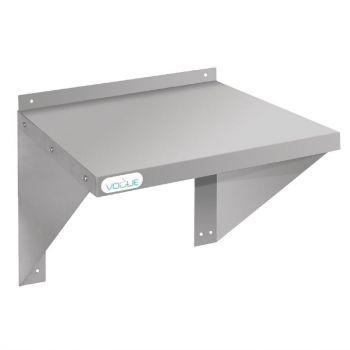Vogue RVS oven/magnetron wandplank 56x46cm