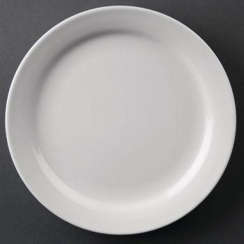 Athena Hotelware borden met smalle rand 16.5cm