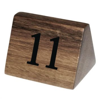 Olympia houten tafelnummers 11-20