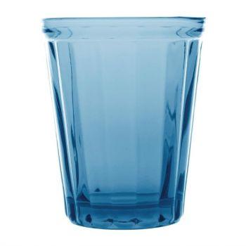 Olympia Cabot glazen tumbler blauw 26cl