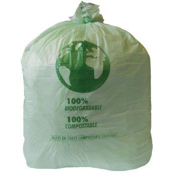 Jantex Grote composteerbare vuilniszakken 90L.