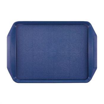 Roltex dienblad blauw 43.5x30.5cm