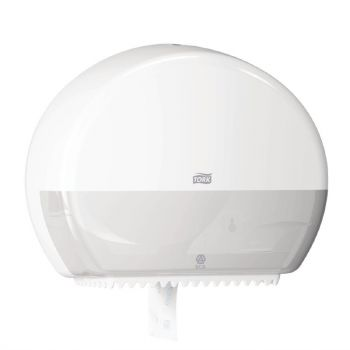 Tork Mini Jumbo toiletroldispenser wit