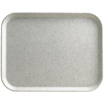 Cambro Versa Lite polyester dienblad gespikkeld rook klein