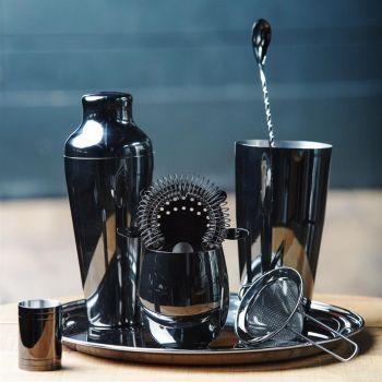 Olympia cocktaillepel zwart