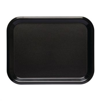 Roltex Nordic dienblad zwart 43x33cm