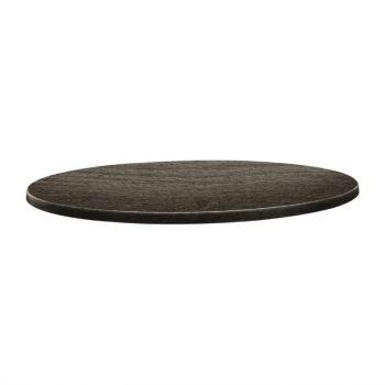 Topalit Classic Line rond tafelblad hout 60cm