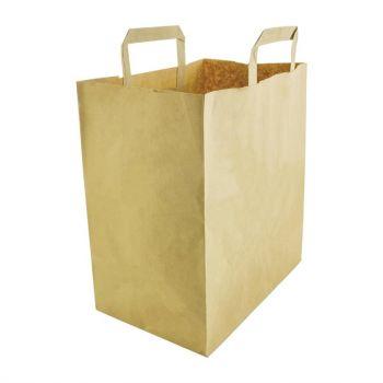 Vegware grote. composteerbare papieren draagtassen