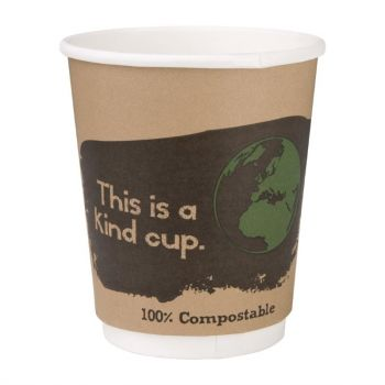Fiesta Green 500 composteerbare dubbelwandige koffiebekers