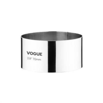 Vogue ronde moussering 3.5x7cm