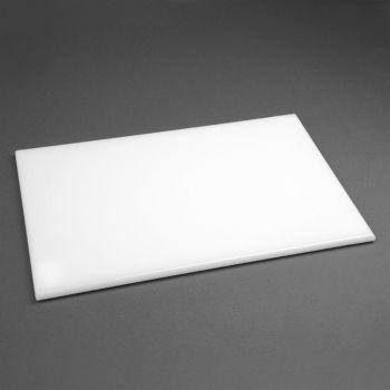 Hygiplas antibacteriële HDPE snijplank wit