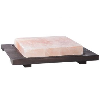 Bisetti Saltplate Re Wooden Base Wenge