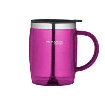 Thermos Desk Mug Ultra Pink 0.45l