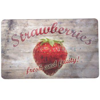 Ricolor Cutting Board Strawberries 23.5x14.5cm