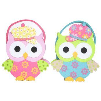 Cosy @ Home Felt Basket Owl 19x8x23cm 2 Types