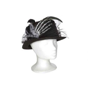 Cosy @ Home Hat With Skeleton Hat Schwarz 29x24xh12c