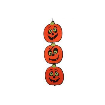 Cosy @ Home Hanger 3 Orange Pumpkins Felt L85cm