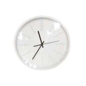 Cosy @ Home Uhr Rund Weiß 35.5x35.5x5cm