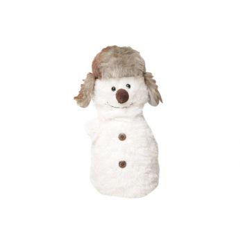 Cosy @ Home Door Stopper Snowman 15x15x30cm