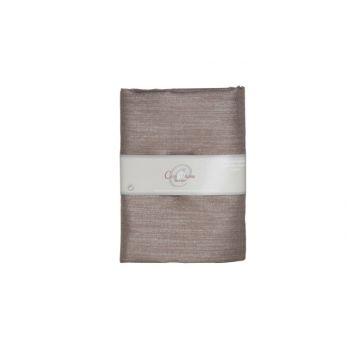 Cosy @ Home Dekostoff Chocolat Silber 200x150cm