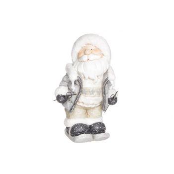 Cosy @ Home Weihnachtsmann Grau Magnesium 26x24xh43c
