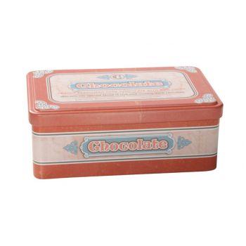 Cosy & Trendy Retro Storage Box Chocolate 18.4x11.5x