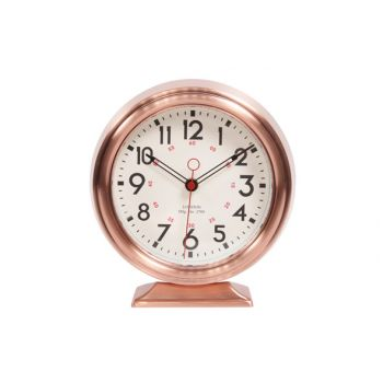 Cosy & Trendy Clock Table Model Copper 23x21,5xh6,8cm
