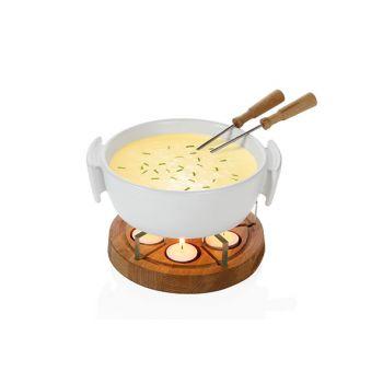 Boska Twinkle Cheese Fondueset White 1l