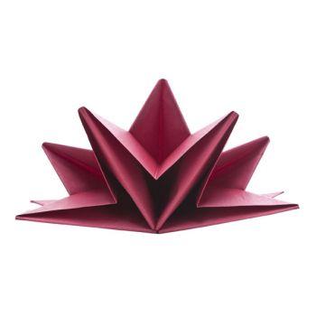Cosy & Trendy Paper Napkin Red Set12 40x60cm
