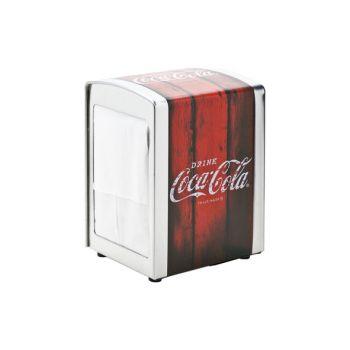 Cosy & Trendy Retro Coca Cola Napkin Dispenser Metal