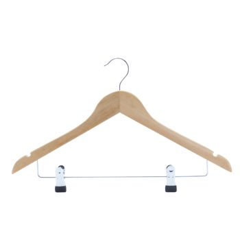 Cosy & Trendy Coathanger With 2 Clips Set2 44xh24cm